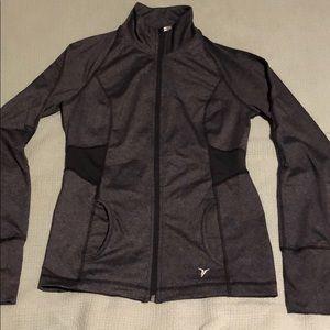 Tops - Workout zipper-up